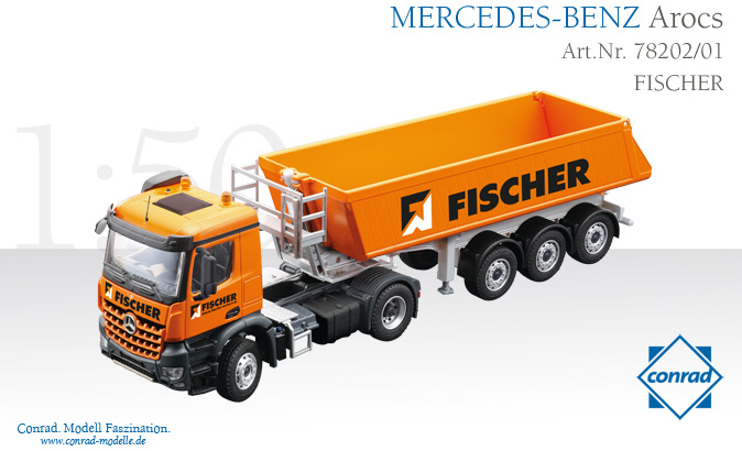 mb arocs fischer ma stab 1 50 lkw modelle wolfsgruber gmbh. Black Bedroom Furniture Sets. Home Design Ideas